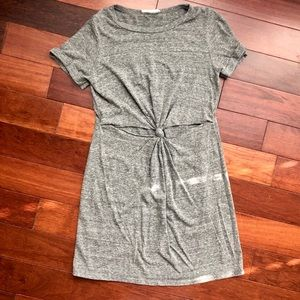 Urban Outfitters t-shirt dress with cut out
